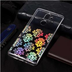 Snowflakes Pattern Bright Color Laser Soft TPU Case for Nokia 7 Plus