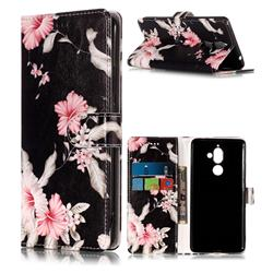 Azalea Flower PU Leather Wallet Case for Nokia 7 Plus