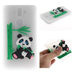 Panda Eating Bamboo Soft 3D Silicone Case for Nokia 9 - Translucent