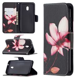 Lotus Flower Leather Wallet Case for Nokia C1 Plus