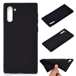 Candy Soft TPU Back Cover for Samsung Galaxy Note 10 (6.28 inch) / Note10 5G - Black