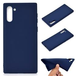 Candy Soft TPU Back Cover for Samsung Galaxy Note 10 (6.28 inch) / Note10 5G - Blue