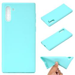 Candy Soft TPU Back Cover for Samsung Galaxy Note 10 (6.28 inch) / Note10 5G - Green