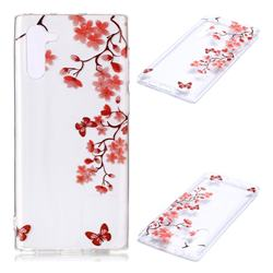 Plum Blossom Super Clear Soft TPU Back Cover for Samsung Galaxy Note 10 (6.28 inch) / Note10 5G