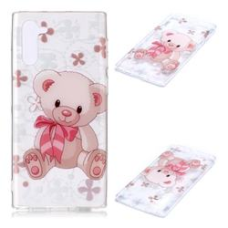 Cute Little Bear Super Clear Soft TPU Back Cover for Samsung Galaxy Note 10 (6.28 inch) / Note10 5G