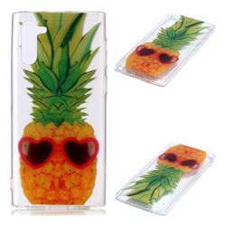 Cute Pineapple Super Clear Soft TPU Back Cover for Samsung Galaxy Note 10 (6.28 inch) / Note10 5G