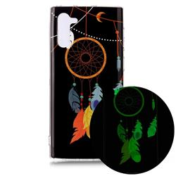 Dream Catcher Noctilucent Soft TPU Back Cover for Samsung Galaxy Note 10 (6.28 inch) / Note10 5G