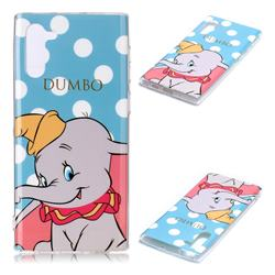 Dumbo Elephant Soft TPU Cell Phone Back Cover for Samsung Galaxy Note 10 (6.28 inch) / Note10 5G