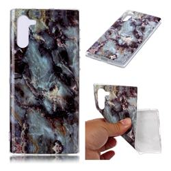Rock Blue Soft TPU Marble Pattern Case for Samsung Galaxy Note 10 (6.28 inch)