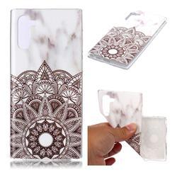 Mandala Soft TPU Marble Pattern Case for Samsung Galaxy Note 10 (6.28 inch)