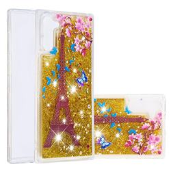 Golden Tower Dynamic Liquid Glitter Quicksand Soft TPU Case for Samsung Galaxy Note 10 (6.28 inch) / Note10 5G