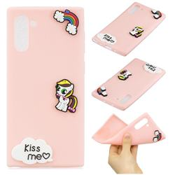 Kiss me Pony Soft 3D Silicone Case for Samsung Galaxy Note 10 (6.28 inch) / Note10 5G
