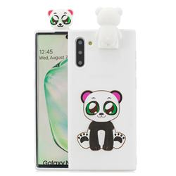 Panda Soft 3D Climbing Doll Stand Soft Case for Samsung Galaxy Note 10 (6.28 inch) / Note10 5G