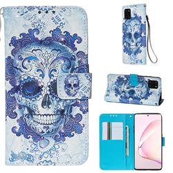Cloud Kito 3D Painted Leather Wallet Case for Samsung Galaxy Note 10 Lite