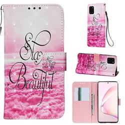 Beautiful 3D Painted Leather Wallet Case for Samsung Galaxy Note 10 Lite