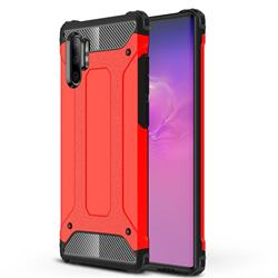 King Kong Armor Premium Shockproof Dual Layer Rugged Hard Cover for Samsung Galaxy Note 10+ (6.75 inch) / Note10 Plus - Big Red