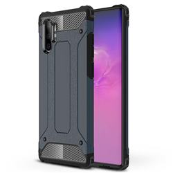 King Kong Armor Premium Shockproof Dual Layer Rugged Hard Cover for Samsung Galaxy Note 10+ (6.75 inch) / Note10 Plus - Navy