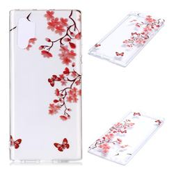Plum Blossom Super Clear Soft TPU Back Cover for Samsung Galaxy Note 10+ (6.75 inch) / Note10 Plus