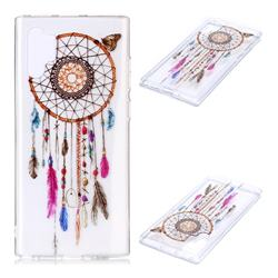 Wind Chimes Butterfly Super Clear Soft TPU Back Cover for Samsung Galaxy Note 10+ (6.75 inch) / Note10 Plus