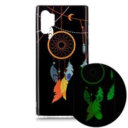 Dream Catcher Noctilucent Soft TPU Back Cover for Samsung Galaxy Note 10+ (6.75 inch) / Note10 Plus