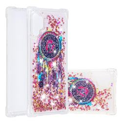 Seal Wind Chimes Dynamic Liquid Glitter Sand Quicksand Star TPU Case for Samsung Galaxy Note 10+ (6.75 inch) / Note10 Plus