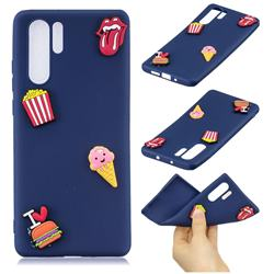 I Love Hamburger Soft 3D Silicone Case for Samsung Galaxy Note 10+ (6.75 inch) / Note10 Plus