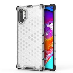 Honeycomb TPU + PC Hybrid Armor Shockproof Case Cover for Samsung Galaxy Note 10+ (6.75 inch) / Note10 Plus - Transparent