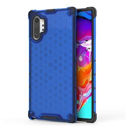 Honeycomb TPU + PC Hybrid Armor Shockproof Case Cover for Samsung Galaxy Note 10+ (6.75 inch) / Note10 Plus - Blue