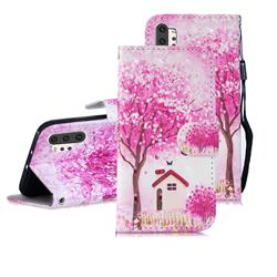 Tree House 3D Painted Leather Wallet Phone Case for Samsung Galaxy Note 10+ (6.75 inch) / Note10 Plus