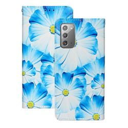 Orchid Flower PU Leather Wallet Case for Samsung Galaxy Note 20
