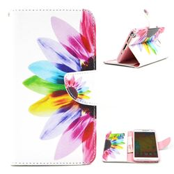 Seven-color Flowers Leather Wallet Case for Samsung Galaxy Note 3 N9000 N9005