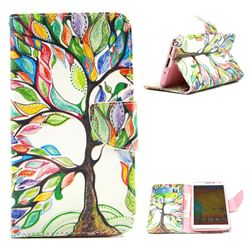 The Tree of Life Leather Wallet Case for Samsung Galaxy Note 3 N9000 N9005