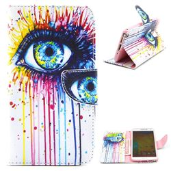 Eye Painting Leather Wallet Case for Samsung Galaxy Note 3 N9000 N9005