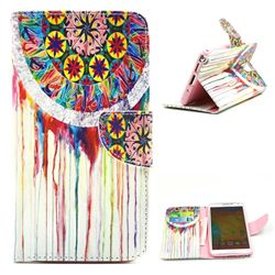 Dream Catcher Campanula Leather Wallet Case for Samsung Galaxy Note 3 N9000 N9005