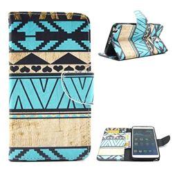 Folk Style Leather Wallet Case for Samsung Galaxy Note 3 N9000 N9005