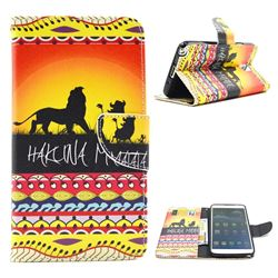 Prairie Lion Leather Wallet Case for Samsung Galaxy Note 3 N9000 N9005