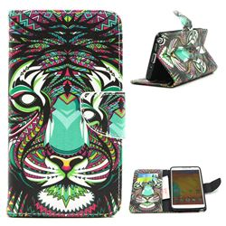 Tiger Leather Wallet Case for Samsung Galaxy Note 3 N9000 N9005
