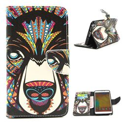 Hound Leather Wallet Case for Samsung Galaxy Note 3 N9000 N9005