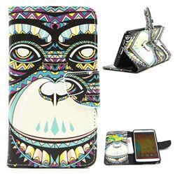Orangutan Leather Wallet Case for Samsung Galaxy Note 3 N9000 N9005