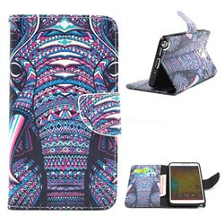 Trunk Leather Wallet Case for Samsung Galaxy Note 3 N9000 N9005