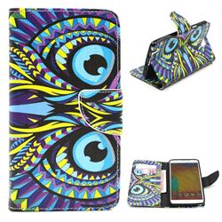Owl Leather Wallet Case for Samsung Galaxy Note 3 N9000 N9005
