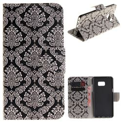 Totem Flowers PU Leather Wallet Case for Samsung Galaxy Note 7