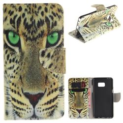 Yellow Tiger PU Leather Wallet Case for Samsung Galaxy Note 7