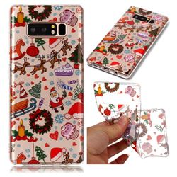 Christmas Playground Super Clear Soft TPU Back Cover for Samsung Galaxy Note 8