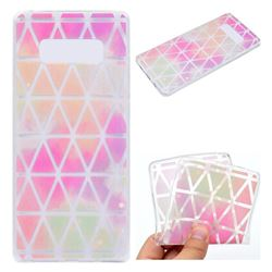 Rainbow Triangle Super Clear Soft TPU Back Cover for Samsung Galaxy Note 8