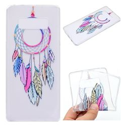 Rainbow Campanula Super Clear Soft TPU Back Cover for Samsung Galaxy Note 8