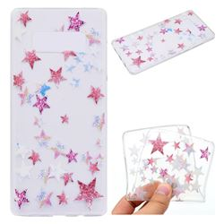 Pentagram Super Clear Soft TPU Back Cover for Samsung Galaxy Note 8