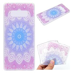 Colored Mandala Super Clear Soft TPU Back Cover for Samsung Galaxy Note 8