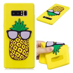 Pineapple Soft 3D Silicone Case for Samsung Galaxy Note 8
