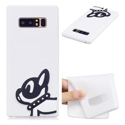 Cute Dog Soft 3D Silicone Case for Samsung Galaxy Note 8